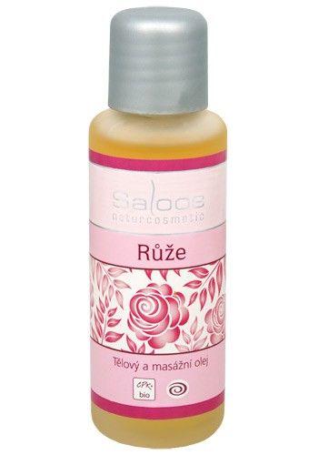 Saloos Masážní olej Růže 50 ml