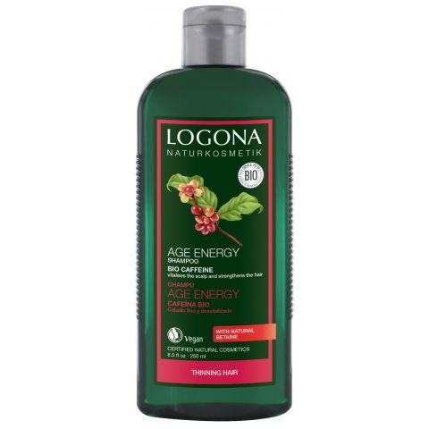 Šampon Age Energy Bio Kofein & Goji Logona  250ml