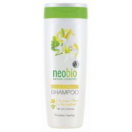 Šampon Lesk a regenerace Bio Lilie & Moringa Neobio 250ml