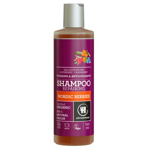 Šampón Nordic Berries na poškozené vlasy Bio Urtekram 250ml