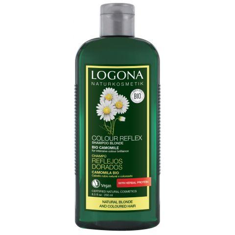 Šampon oživující pro světlé a barvené vl. Heřmánek Logona 250ml