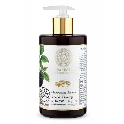 Šampon pro poškozené vlasy – Úplná obnova Flora Siberica 480 ml