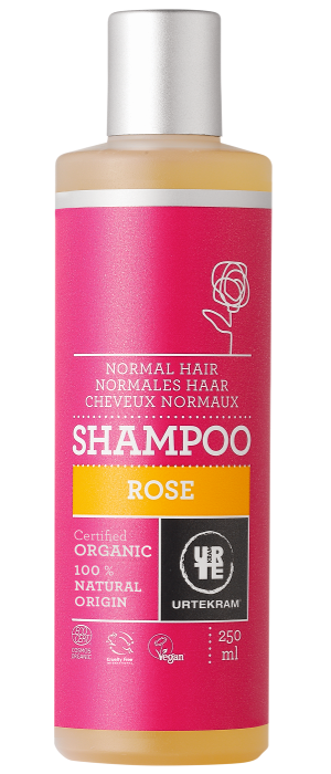 Urtekram Šampón Růžový 500ml BIO