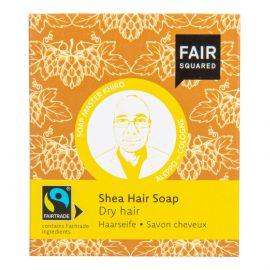 Šampon tuhý na mytí vlasů – karité pro suché vlasy Fair Squared 2x80 g