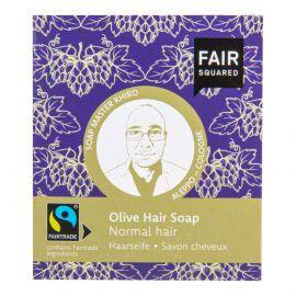 Šampon tuhý na mytí vlasů – olivový pro normální vlasy Fair Squared 2x80 g