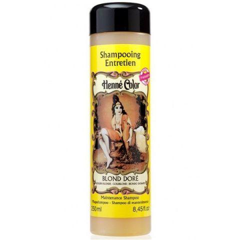 Šampon Zlatý blond Henné Color 250 ml