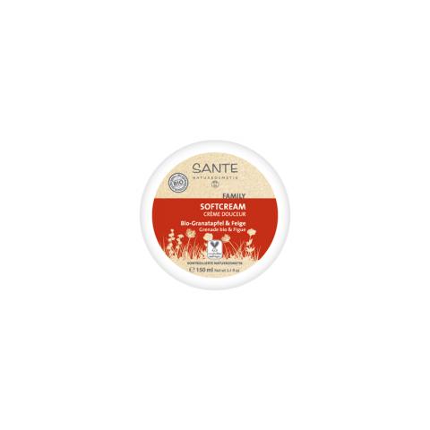 Family Softkrém Bio Granátové jablko + fík Sante 150ml