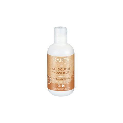 Family Sprchový gel Bio Kokos & Vanilka Sante 950ml