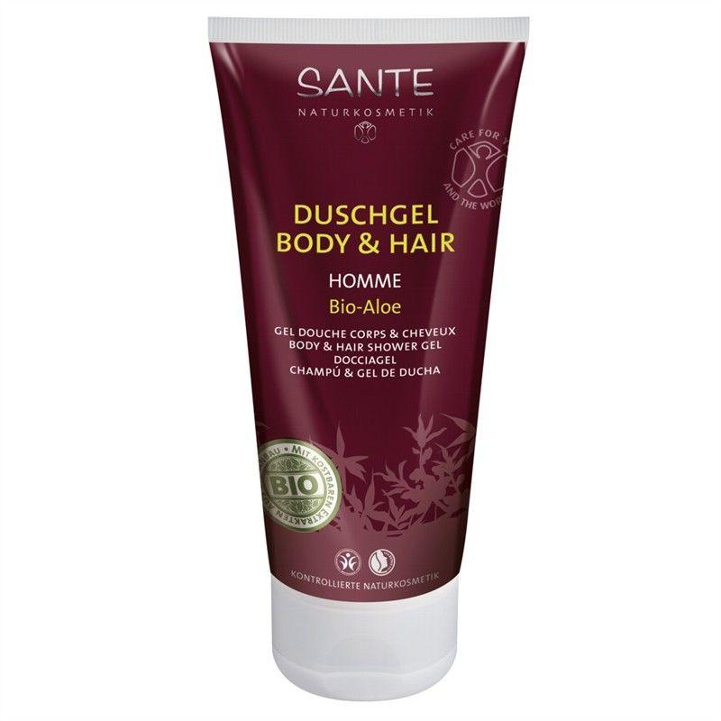Sante HOMME Šampon a sprchový gel Bio Aloe 200ml