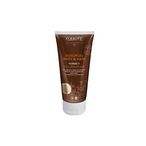 HOMME Šampon a sprchový gel  Bio Kofein & Bio Acai Sante 200ml