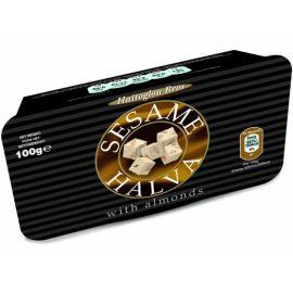 Sezamová Chalva ve vaničce + mandle Haitoglou 100g