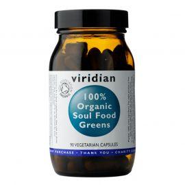 Soul Food Greens Organic (Směs zelených superpotravin) 90 kapslí Viridian