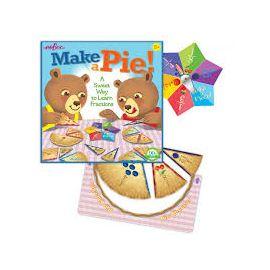 Společenská hra - Upeč koláč a nauč se zlomky Eeboo