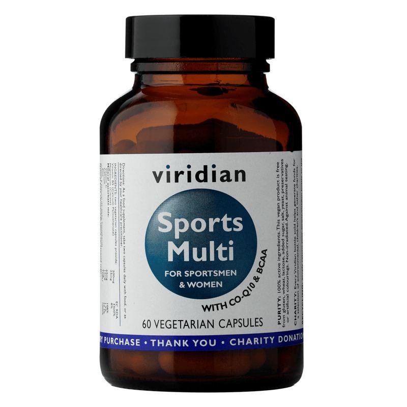 Viridian Sports Multi (Vitamíny, minerály a rostlinné extrakty) 60 kapslí
