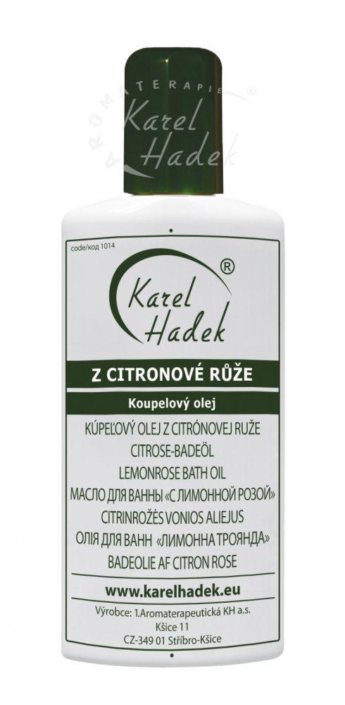 Citrónová růže Sprchový olej Hadek velikost: 100 ml