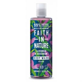 Sprchový gel Levandule Faith in Nature 400ml