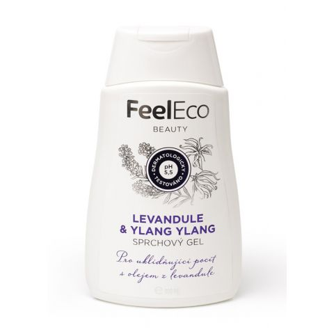 Sprchový gel Levandule & Ylang-Ylang Feel eco 300ml