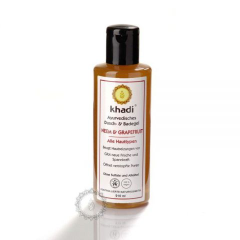 Sprchový gel NEEM & GRAPEFRUIT Khadi  210ml