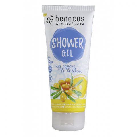 Sprchový gel rakytník a pomeranč Benecos 200ml