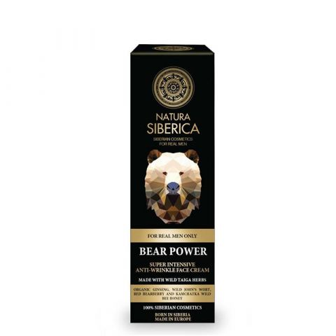 Super intenzivní krém proti vráskám «Medvědí síla» Natura Siberica 50ml