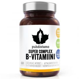Super Vitamin B Complex Puhdistamo 60 kapslí