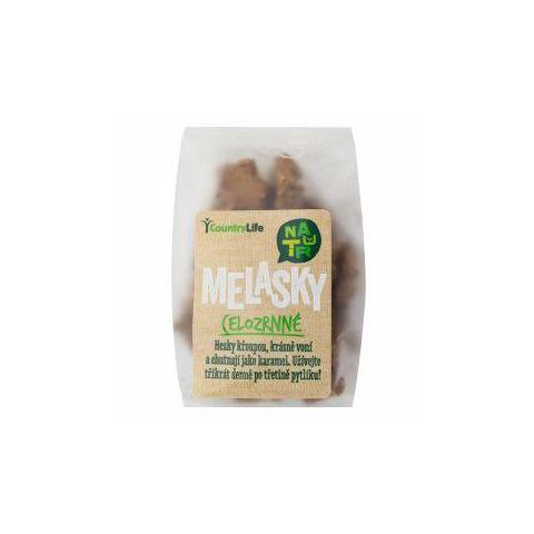 Sušenky celozrnné s melasou Melasky 150g