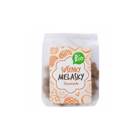 Sušenky celozrnné s melasou Melasky BIO 120g