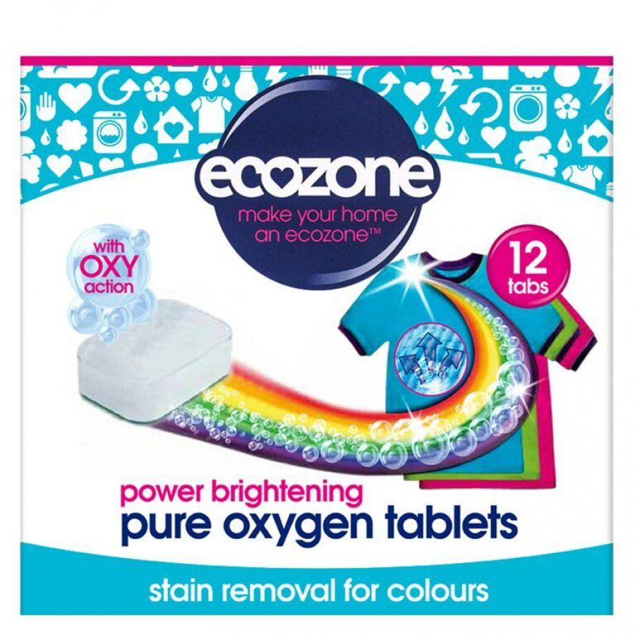 Ecozone Rozjasňovač barevného prádla 12 ks