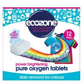 Tablety na praní Oxy na barevné prádlo Ecozone 12ks