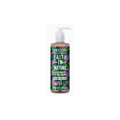 Tekuté mýdlo Levandule&Pelargonie Faith in Nature 300ml