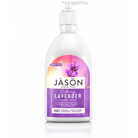 Tekuté mýdlo Levandule Jason 473 ml