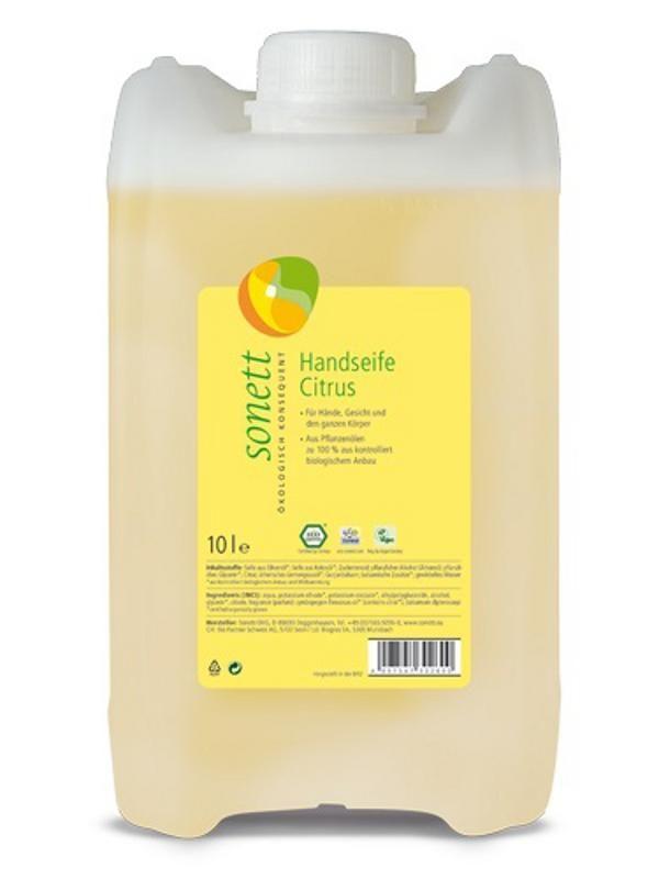 Sonett Tekuté mýdlo na ruce Citrus 10 L + Doprava Zdarma