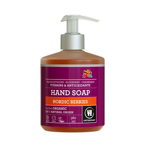 Tekuté mýdlo na ruce Nordic Berries Bio Urtekram 380ml