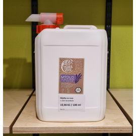 Tekuté mýdlo na ruce s vůní levandule BEZOBAL Tierra Verde