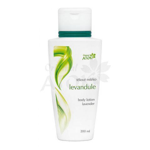 Tělové mléko Levandule Atok 200 ml