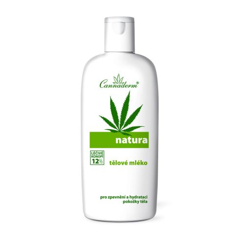 Tělové mléko NATURA Cannaderm   200 ml