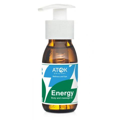 Tělový a masážní olej Energy Atok