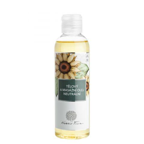 Tělový a masážní olej neutrální Nobilis Tilia 200 ml