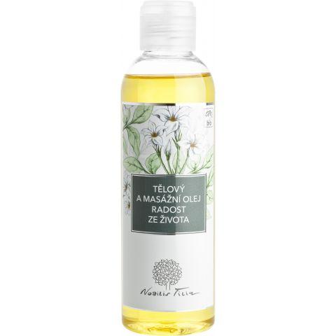 Tělový a masážní olej Radost ze života Nobilis Tilia 200 ml