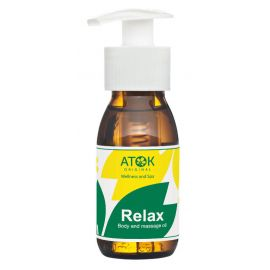 Tělový a masážní olej Relax Atok