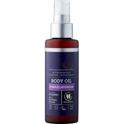 Tělový olej levandulový BIO, VEG Urtekram 100 ml