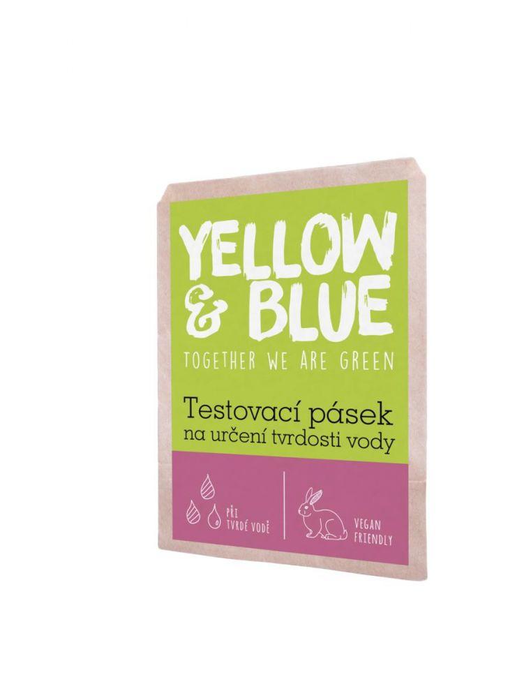 Yellow & Blue Testovací pásek na určení tvrdosti vody
