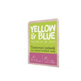 Testovací pásek na určení tvrdosti vody Yellow & Blue