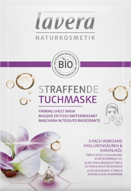 Textilní maska zpevňující Lavera 21 ml