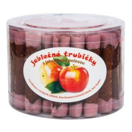 Trubičky jablečné s jahodovým jogurtem dóza Bioprodukt JT 540 g