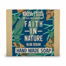 Tuhé mýdlo Modrý cedr Faith For Men 100g