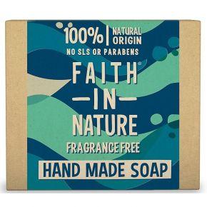 Tuhé mýdlo Mořská řasa Faith in Nature 100g