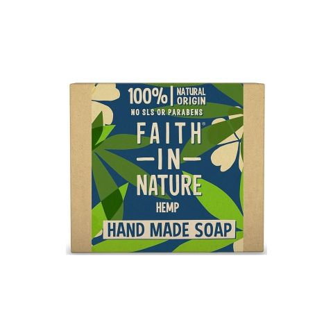 Tuhé mýdlo s citronovou trávou Faith in Nature 100g