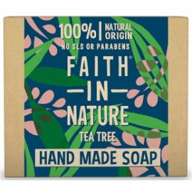 Tuhé mýdlo TeaTree Faith in Nature 100g