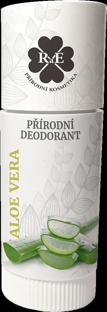 RaE přírodní tuhý deodorant Aloe vera 25 ml